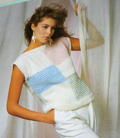 Sweater Knitting Pattern Bouquet 722 by elanknits on Etsy, $4.00