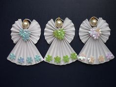 Origami Angel ornaments | Flickr : partage de photos !