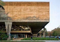 Faculdade de Arquitetura e Urbanismo da Universidade de São Paulo (FAU-USP) / João Vilanova Artigas e Carlos Cascaldi