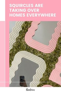 In 2020, we saw celebrities like Frank Ocean, Bella Hadid and Lena Dunham flaunting their Ettore Sottsass's Ultrafragola mirrors on social media. Since then, we've seen it everywhere. Abstract Shapes, Geometric Shapes, Buy Candles, Lena Dunham, Memphis Design, Design Movements, Frank Ocean, Home Trends, Circle Shape
