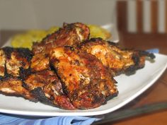 Pinch of Lime: Spice-Rubbed Grilled Chicken. This is amazingly delicious! It is a very quick meal to put together, too. The spice rub has a subtle sweetness that is infused throughout the meat and helps to keep it moist and full of flavor.