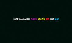 """Purple Yellow Red and Blue"" by Portugal. The Man"