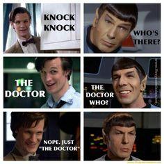 Doctor.....Spock.