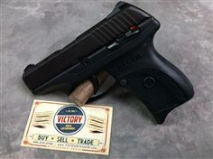 This is an unfired, new old stock condition Ruger LC9 9mm pistol purchased recently from an estate.