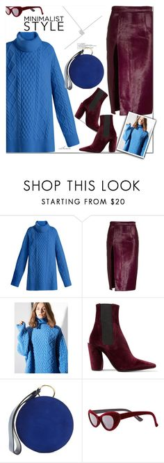 """""""Minimalist Style"""" by arethaman ❤ liked on Polyvore featuring Raey, Brandon Maxwell, Jil Sander, Diane Von Furstenberg, Replay, skirt, Sweater, WhatToWear and outfitidea"""