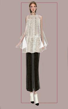 """Mei"" Sketch   Stefania Belmonte   my collection   Fashion Illustration"