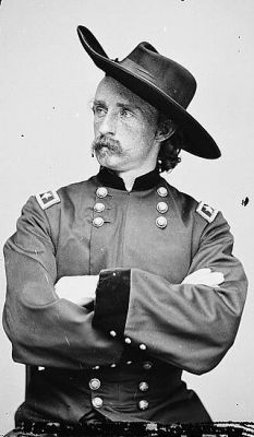 George Armstrong Custer was a cavalry commander in the United States Civil War and the Indian Wars. While briefly promoted to United States Army Major General, his permanent rank was that of captain. George A. Custer fought in the first major battle of the Civil War - the First Battle of Bull Run - and was present at General Robert E. Lee's surrender. After the civil war, Custer participated in various aggressions against Native Americans on behalf of the United States government. The ...