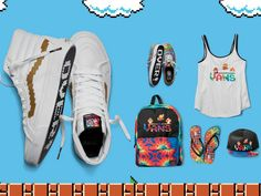 God Save the Queen and all: Nintendo x Vans #nintendo #vans #capsulecollection