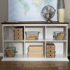 You're a professional at what you do, so you (and your home office) deserve a professional, elegant collection like The Belham Living Hampton. Home Office Organization, Office Decor, Office Ideas, Organization Ideas, Cubbies, Shelves, Cubby Hole, Study Office, Working Area