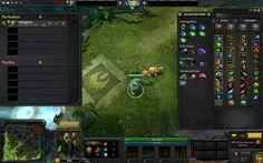 DOTA 2 - UI Screenshot