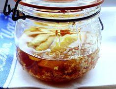 Elderflower Cordial: 1 lb (450g) runny honey - something light flavoured  zest of 1 lemon - use a vegetable peeler  6 or 7 medium heads of elderflower
