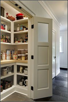 Walk In Pantry Ideas Pinterest