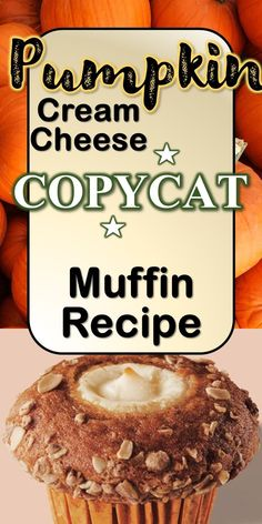 Copycat Starbucks Recipe you can make in 30 minutes or less Cream cheese in a Muffin? Really? Yes! The combination of the warm spiciness of the pumpkin blend and the smoothness of the cream cheese make these delicious pumpkin muffins taste more like a dessert than a snack. Do I need to use a certain type of muffin pan? Pumpkin Cream Cheese Muffins, Pumpkin Cream Cheeses, Starbucks Pumpkin, Starbucks Recipes, Fun Baking Recipes, Muffin Recipes, Moist Chocolate Chip Muffins, Homemade Muffins, Best Comfort Food