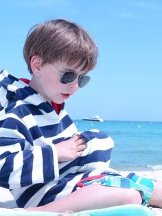 Boys * Fashion * ebay * MINI BODEN Strand Frottee Pullover * by: the-boys-and-me