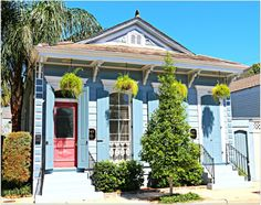 Bywater Blue Home in New Orleans