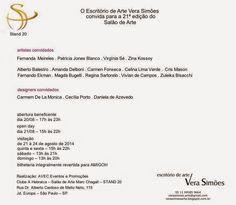 20 à 24 de Agosto ♥ 21° Edição do Salão de Arte ♥ SP ♥  http://paulabarrozo.blogspot.com.br/2014/08/20-24-de-agosto-21-edicao-do-salao-de.html