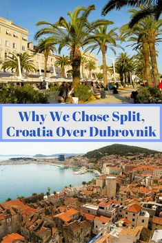 Dubrovnik is definitely beautiful and has the hearts of Game of Thrones fans but Split, Croatia is the place that won us over. Click through to see why we chose the Palace city of Split as our home base in Croatia over the walled city of Dubrovnik. via @livedreamdiscov