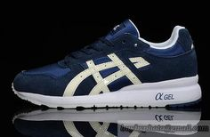 Womens And Mens Asics Jonning Sneaker Shoes Navy Noctilucent|only US$95.00 - follow me to pick up couopons.