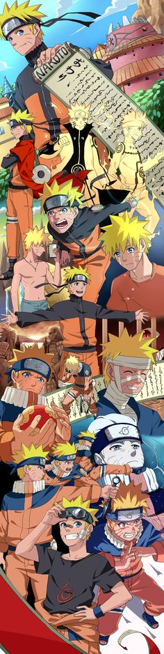 """Finally found the naruto version from this artist...already pinned sasuke and sakura versions"" Narutooo <3"
