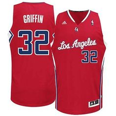 Los Angeles Clippers BLAKE GRIFFIN Swingman Jersey XL SEWN NWT NEW Adidas
