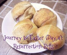 We made these rolls at a Relief Society meeting in New Braunfels, TX but it looks as though many people have been making them.  This is a great activity to share with your children about the true meaning of Easter.  And they taste great!