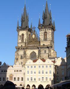 Týnský chrám, Prague.
