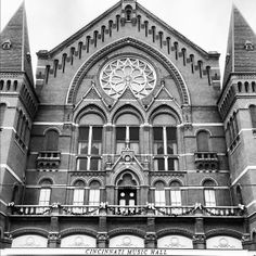 Cincinnati Music Hall is a historical building. I have memories of seeing my first opera at Music Hall. That's also when I fell in love with the architecture in the city. Music Hall is beautiful and if you love the fine arts you'll have to see for yourself.