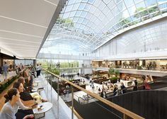 Artist rendering of planned interior renovation for Willis Tower http://www.chicagonow.com/show-me-chicago/2017/02/willis-tower-to-get-a-hip-new-look-price-tag-500-mil/