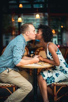 Cafe Engagement Shoot