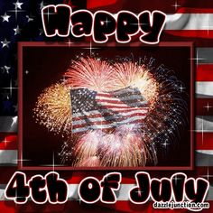 4th of july images with scripture | Independence Day Flag Happy Fourth July Comment Graphic: Picture ...
