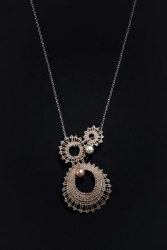 Náhrdelník Sweet pearl | Vamberecká krajka