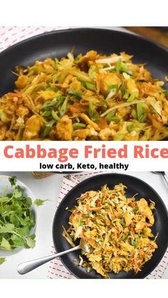 Low Sodium Recipes, Healthy Low Carb Recipes, Keto Recipes, Cooking Recipes, Dinner Recipes, Low Carb Vegitarian Recipes, Low Calorie Vegetarian Meals, Vegetarian Cabbage Recipes, Shredded Cabbage Recipes