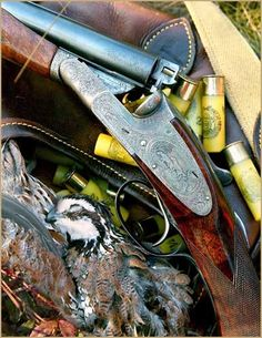"""gentlemanbobwhite: """"Visit #gentlemanbobwhite for more pics about bird hunting, good dogs, fine guns, and a lovely lady or two. """""""