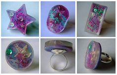 Les bijoux en résines, des accessoires de plus en plus appréciés. Resin jewelry. Hars sieraden