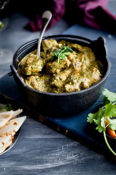 Murgh Saagwala – Spinach Chicken