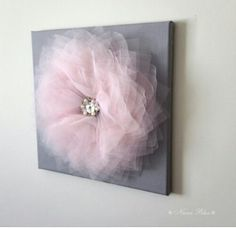 Pink and Gray Wall Flower Girls Flower Decor Baby Nursery Wall Hangings Pink and Grey Bedroom Decor Dorm Room Decor Girls Room Decor Kids Room Design Baby Bedroom Decor Dorm Flower Girls Gray grey Hangings Nursery Pink Room wall Grey Bedroom Decor, Bedroom Ideas, Gray Decor, Bedroom Wall, Trendy Bedroom, Modern Bedroom, Nursery Ideas, Nursery Decor, Master Bedroom