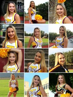 Cheerleader Pictures, Cheerleading Senior Pictures, Senior Cheerleader, Cheer Pictures, Cheer Pics, Edgy Summer Outfits, Edgy Summer Fashion, Tween Fashion, Women's Fashion Dresses