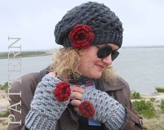 NewSpring+Crochet+Patterns | Crochet PATTERN Set - Mary Toddler Child Teen Adult Slouchy Hat ...