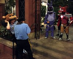 Court Of The Monarch — Umm…. Mike? Why are there animatronics at MagFest?...