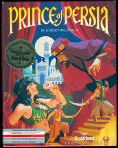 Prince of Persia - Brøderbund - Jordan Mechner - Atari ST - 1989 http://www.mediator.io/