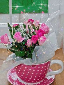 The perfect Teacup Bouquet Roses Animated GIF for your conversation. Discover and Share the best GIFs on Tenor. Flowers Gif, Beautiful Rose Flowers, Beautiful Gif, Love Rose, Gif Bonito, Beau Gif, Photocollage, Sweet Messages, Gif Pictures
