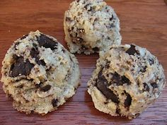 Scookies. part scone, part cookie. Sweetened with coconut butter.