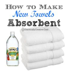 How to Make New Towels Absorbent