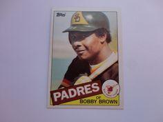 Bobby Brown 1985 Topps Baseball Card