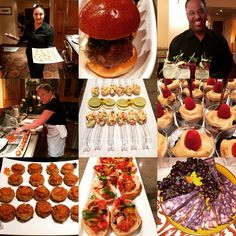 Pics from cater Former Wisconsin State Senator Russ Feingold's Fundraiser Last night for 60 guests in Santa Monica!!! Hosted by 2 of our favorite clients Terri & Andrew.  Beef Sliders, Onion Jam, Mini Lump Crab Cakes w/ Mango Chutney, Bruschetta on Crostini, Port Derby Cheese