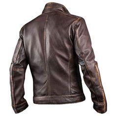 Event Biker in pelle da uomo promo Side Lace Leather Vest
