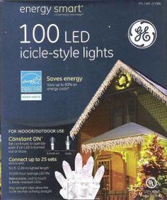 christmas lights icicle 61 NVd0uv4L Ge Energy Smart 100 LED Icicle ...