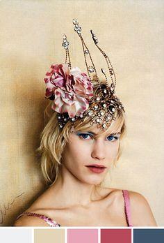 Achados da Bia | Inspiração do dia | Headpiece | The Great Gatsby - #hats... alright this is kinda crazy but it's also awesome!