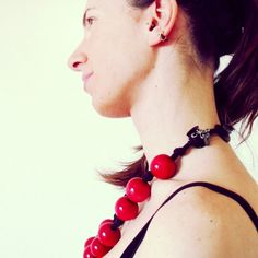 Red Wooden Beads  TO BUY: Comment with your email address and you'll receive a secure checkout link.  Price:  2990.  This exclusive and one of a kind handcrafted necklace is made with vintage new and recycled materials. It is perfect to communicate how different and original your personality is. This item recalls Africa old Europe in a perfect  creative mashup.  Comment #subscribe  your email address to subscribe to instant updates via email when we post new products!  Promote our products…