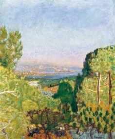 La forêt de pins, Pierre Bonnard, 1924